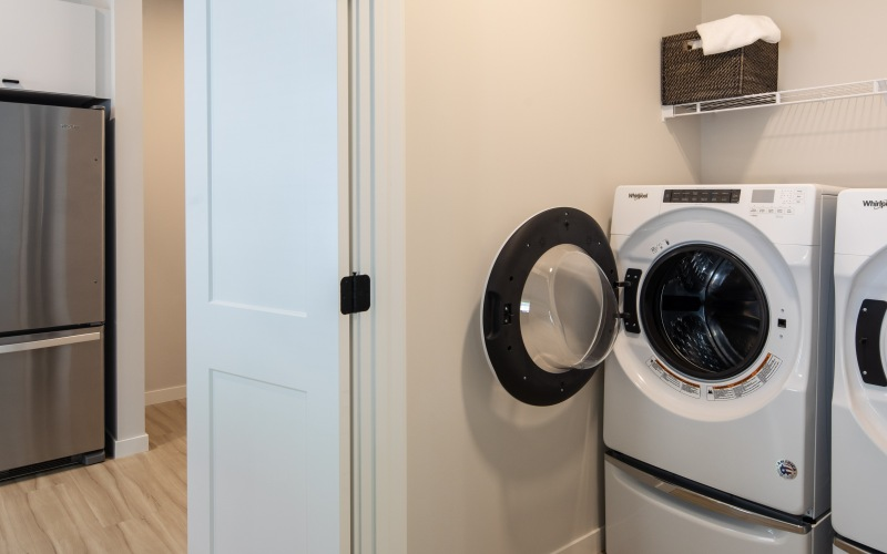 Irvine Exchange in-home laundry