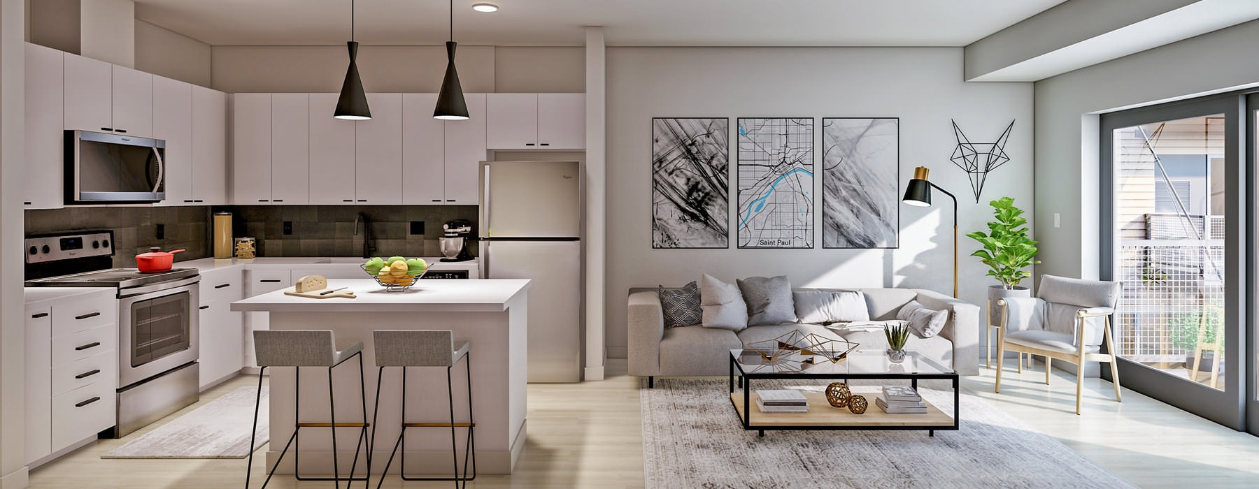 Rice a available studio 1 2 3 bedroom apartments in - 1 bedroom apartments in st paul mn ...